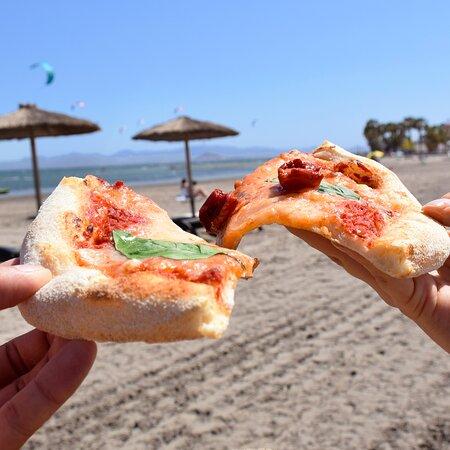 Pizza para llevar en Los Alcázares. Recogidas en local por 9,99€. Restaurante Pizzería Sorelle D´Italia, Los Alcázares