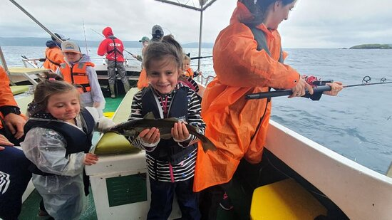 Fun & fishy times with Bantry Bay Charters