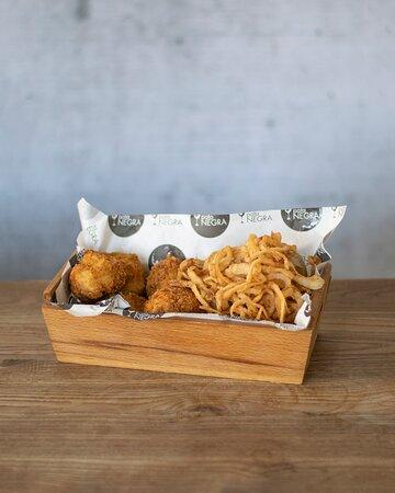 Croquetas de pollo / Chiquen croquettes