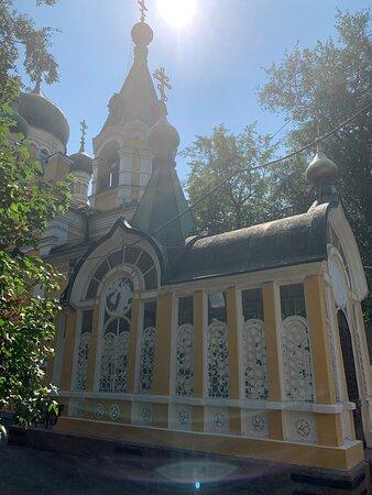 Часовня на Волковском православном кладбище