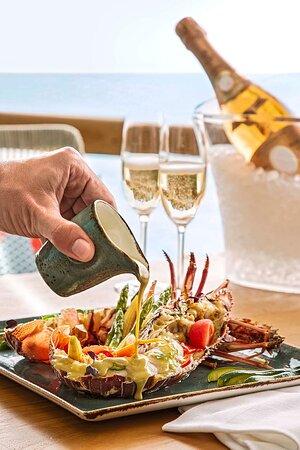 Buddha Bar green lobster curry
