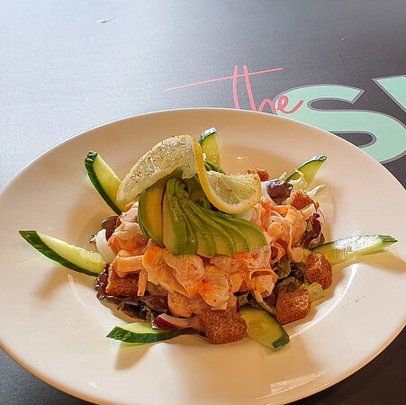 a healthy option for our customers , the crab salad