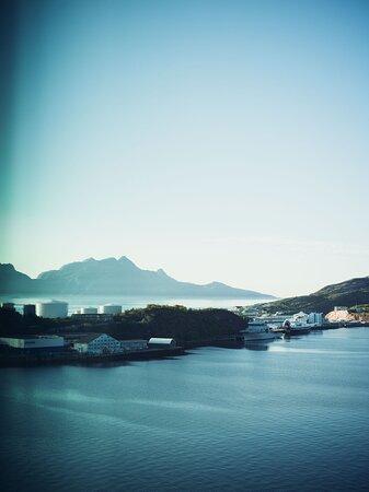 View of Landegode island