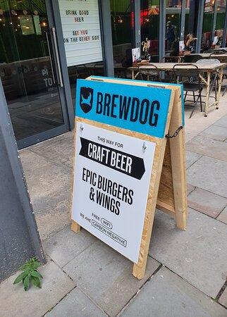 Brewdog just off Seel Street.