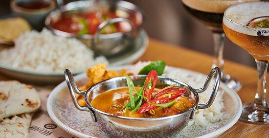Curry at World Bar
