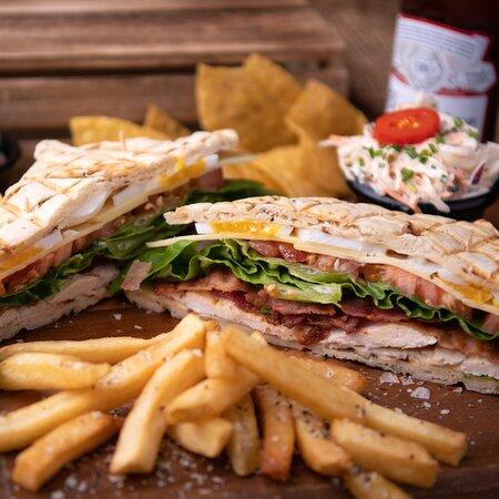 Stacked Club Sandwich