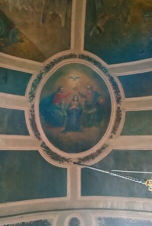 Церковь Успения Пресвятой Богородицы. Росписи сводов.