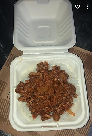 Chilli and rice.
