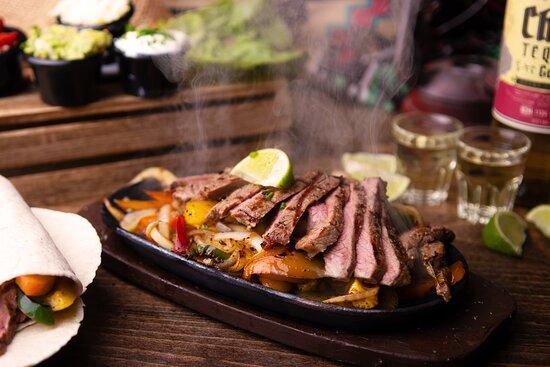 Succulent Steak Fajitas