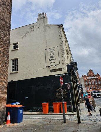 Pogue Mahone Pub along Seel Street