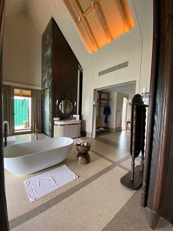 Luxury over water villa