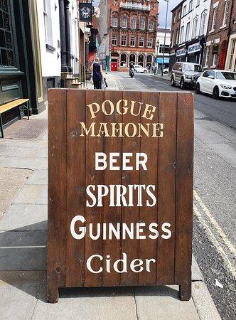 Pogue Mahone Pub in Ropewalks District