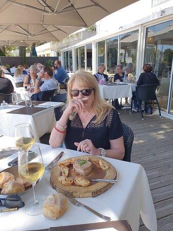 rillette de canard au foi gras