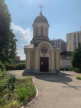 Часовня о имя Святого Архистратига Божия Михаила во дворе дома на Расстанной улице