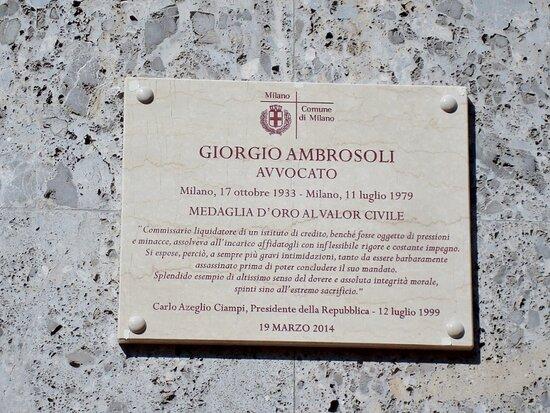 Casa Di Giorgio Ambrosoli