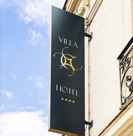 Villa C Hôtel**** façade extérieur rue