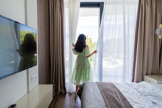"""Sotji, Ryssland: апарт-отель """"Лучезарный Резорт 4*"""""""