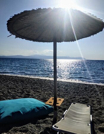 Loutraki, Grèce : Blue• The most calming colour.