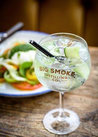 Big Smoke gin and tonic!