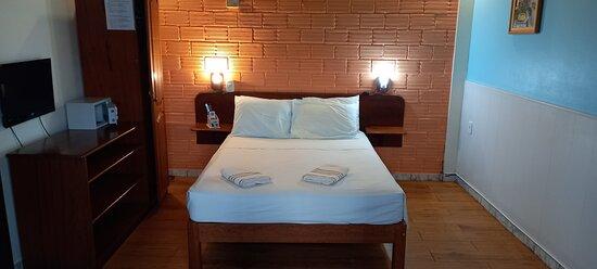Quarto standard com cama de casal