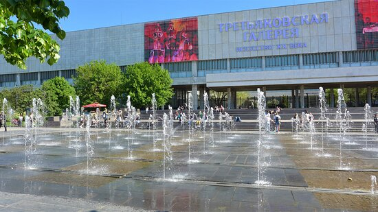 Hot days near the fountains