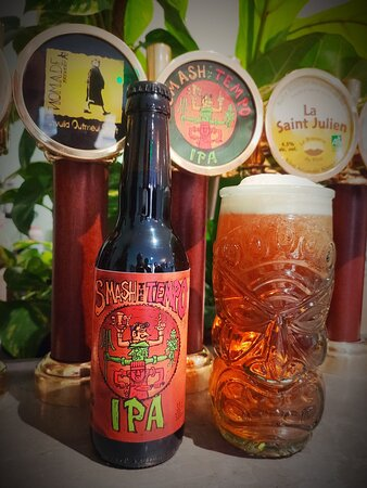"""Une bière unique, la """"Smash The Tempo"""" une IPA avec du caractère mais qui se boit facilement. Fermez les yeux et savourez :)"""