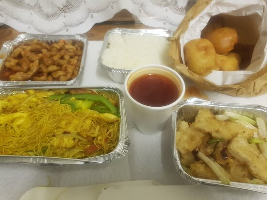 Our take-away meal