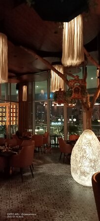 Pedro en la terraza del Tulum Dubai - Picture of Tulum Restaurant, Dubai - Tripadvisor