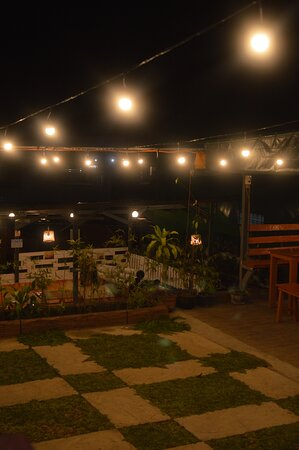 Open House at night