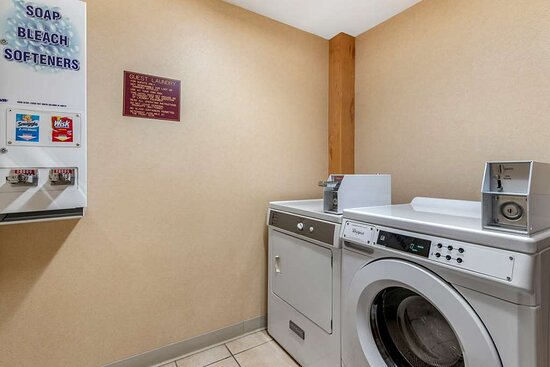 Guest laundry facilities