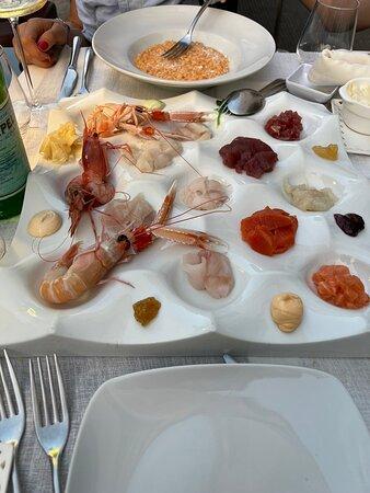 Foto de Alex Ristorante, Lecce: Fritto misto pesce e verdure - Tripadvisor
