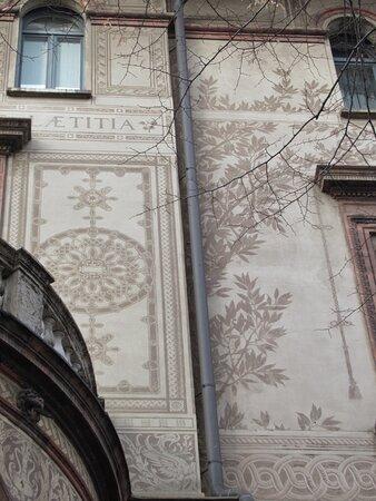 Milan, Italie : Architetture e decorazioni