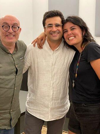 con Albert Hera ed Emilia Zamuner