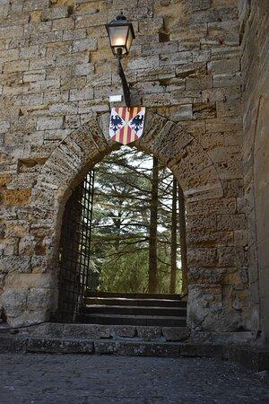 Энна, Италия: portale d'ingresso della parte più interna del maniero