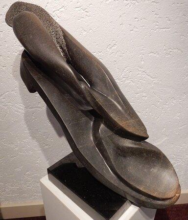 """De Pol, The Netherlands: """"Lopende kunst"""" Kunst maken, verkopen, ophalen, naar toe om te kijken, enz. Ik dacht ik maak lopende kunst !!!!"""