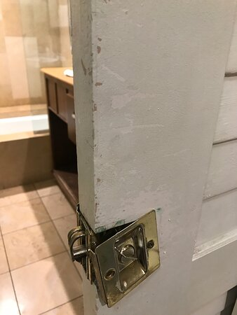 Broken hardware, nicked paint, cleanliness