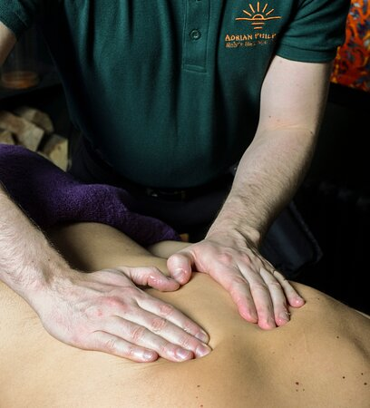 Peebles, UK: Nothing is better than a back, neck and shoulder massage to boost relaxation and relief pain.