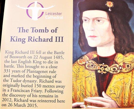 The Grave Of King Richard Iii