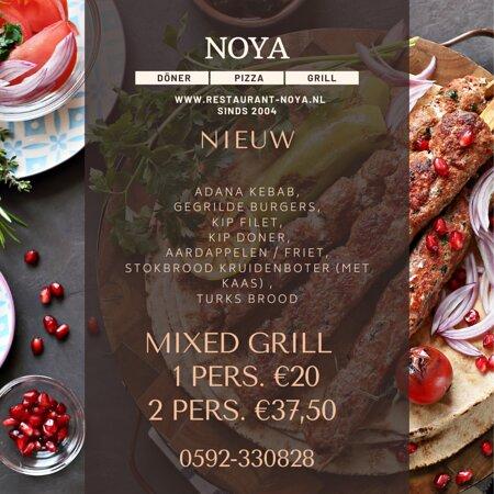 Nieuw! Mixed Grill