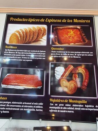 Espinosa de los Monteros, España: Productos artesanales.