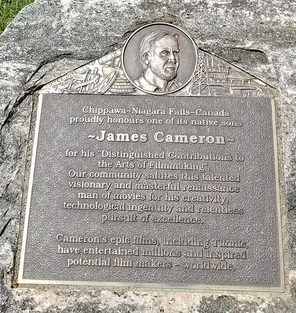 James Cameron Plaque