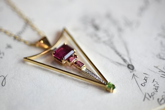 Did you know our fine jewelry is designed and handmade right here in our downtown Waco studio?