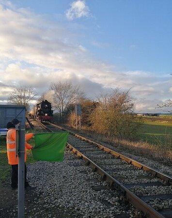 THE POLAR EXPRESS TRAIN RIDE AT WENSLEYDALE RAILWAY