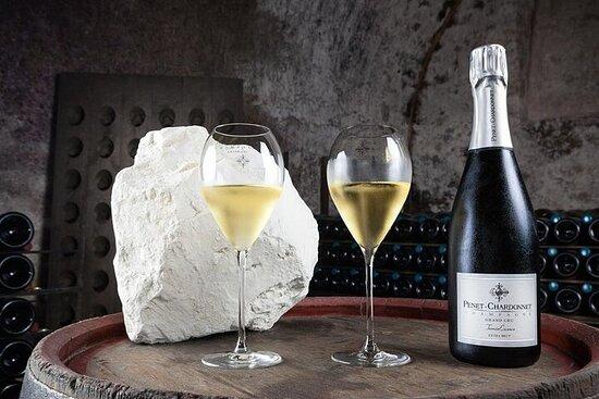 Lunsj i champagnehus og smaksprøver