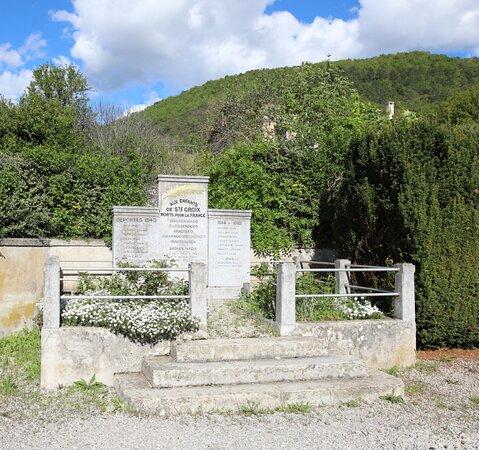 Monument aux Déportés Morts de Sainte-Croix