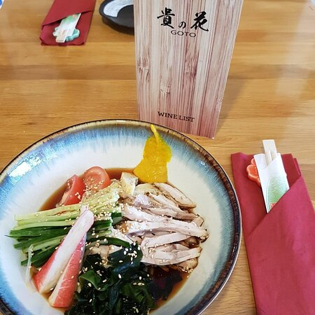 Our Special Cold Ramen for the hot Sunny 🌞 day.😋😋😋🤩🤩🤩🌞🌞🌞