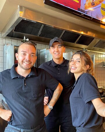 Dream Team at your service! Drop by and say HI <3 We love meeting new Turkish food loving customers :)