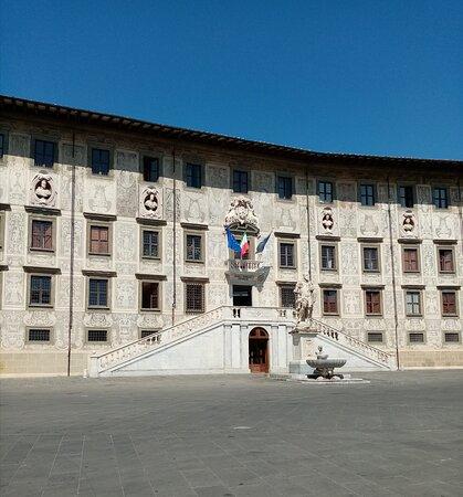 😍 Ma quanto è grande Piazza dei Cavalieri?! Tanto, tanto, grande! 🤗🌹🌸👍💞💕 Pisa, luglio 2021