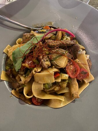 Chicken Pasta - Photo de Cugini the Italian Restaurant, Crète - Tripadvisor