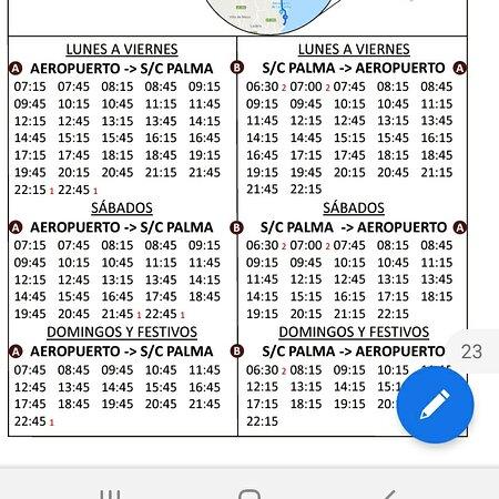 Playa De Los Cancajos, Ισπανία: 500 Bus Timetable
